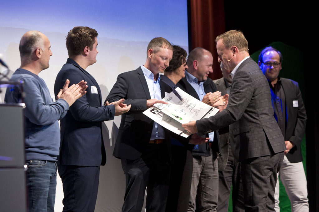 Verleihung des Unternehmerpreises 2019