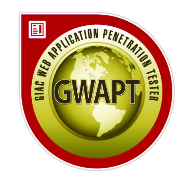 GWAPT Zertifizierung